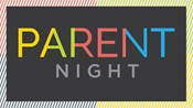"Image of the words ""Parent Night"""