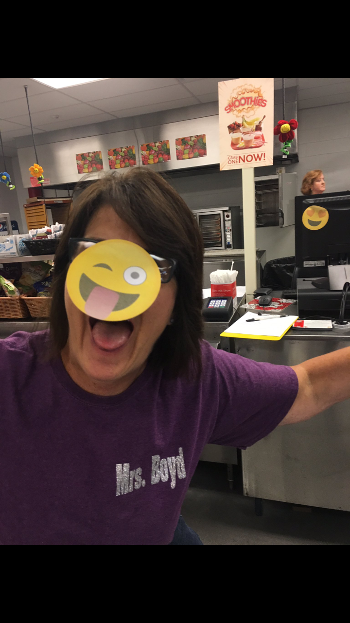"Mrs. Boyd gets a little ""emoji-tional"" at CMS"
