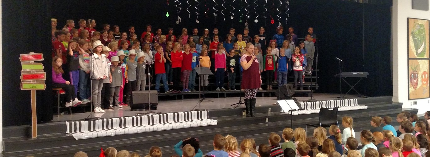 Photo of PCES 3rd Grade Christmas Program