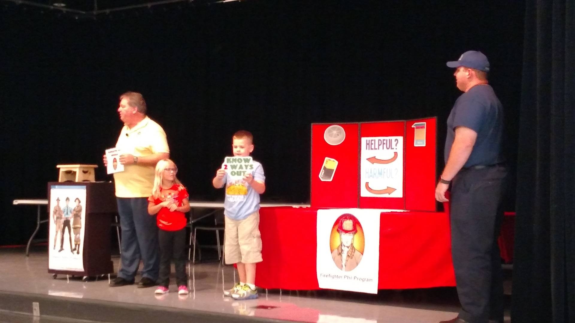 Fire Safety Presentation at PCES
