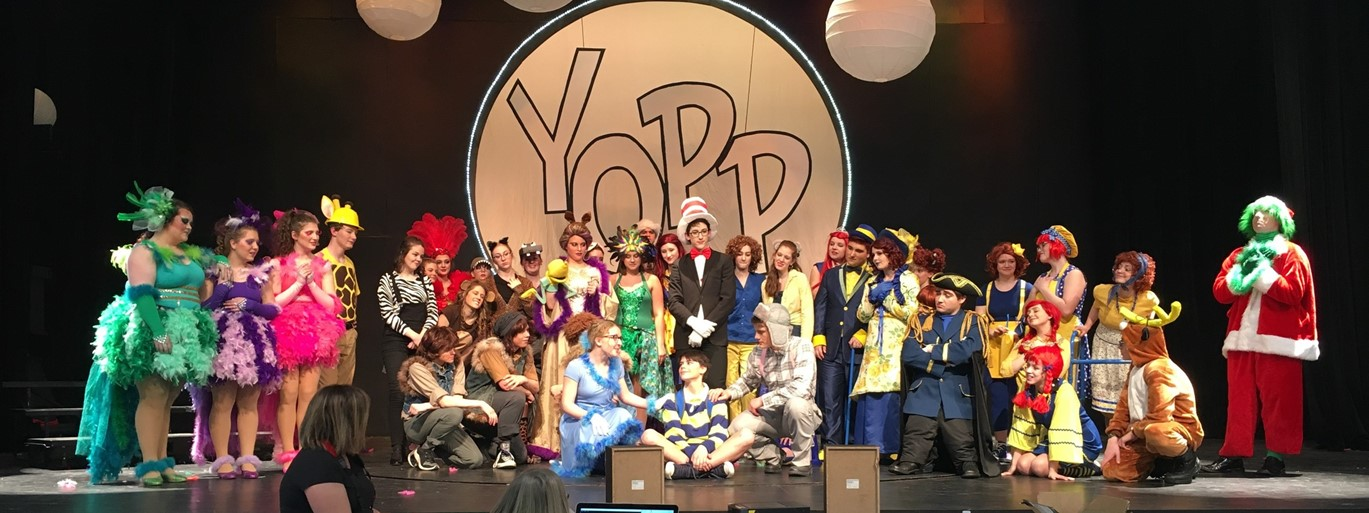 Photo of Seussical Musical Rehearsal