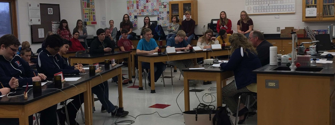 Photo of HS Quick Recall Competition