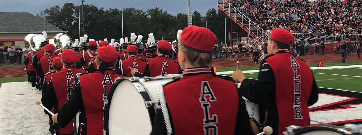 Photo of JAHS Marching Band