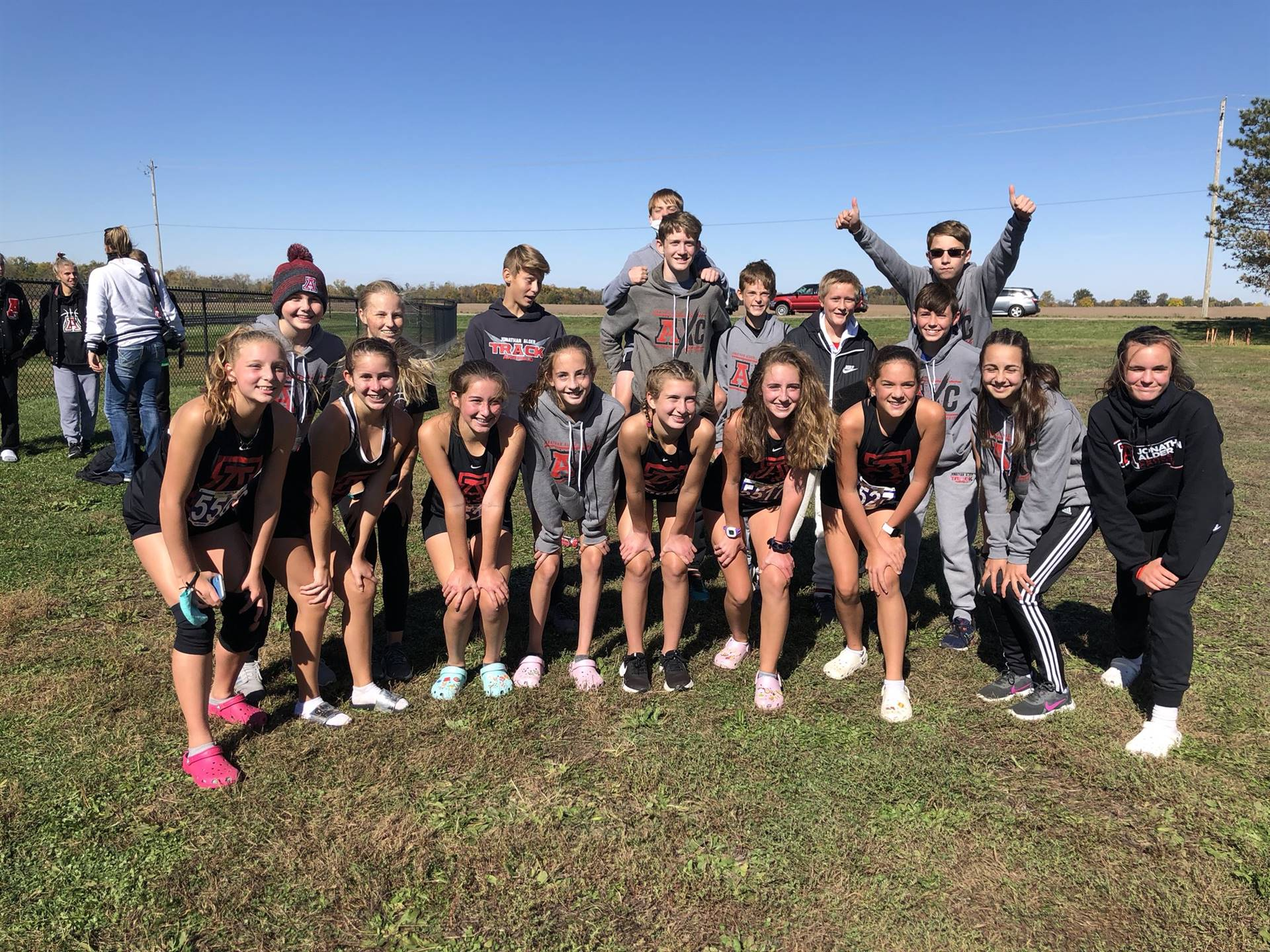 Girls and Boys 2020 Back-to-Back CBC Cross Country Champions