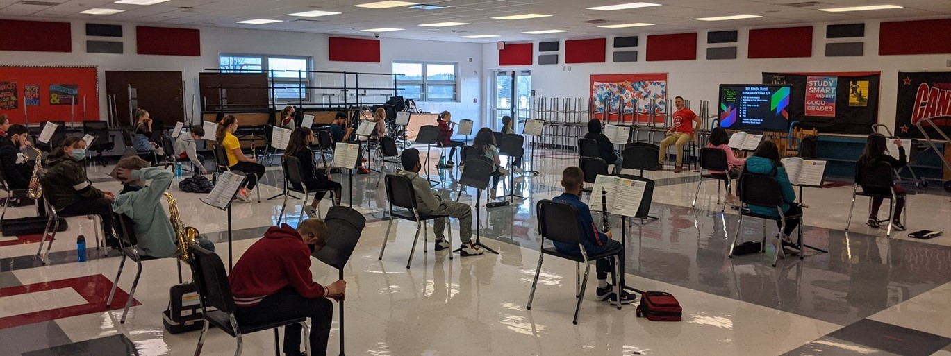 Band at Middle School